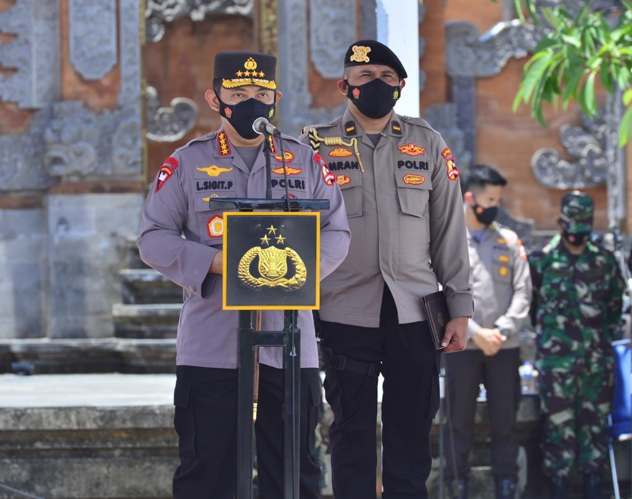 Pesan Kapolri Saat Pimpin Apel Pasukan Sambut Wisman di Bali | Memo News